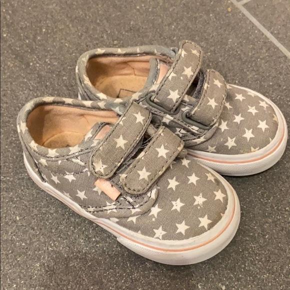 Vans Shoes | Girls Toddler 45 Gray W